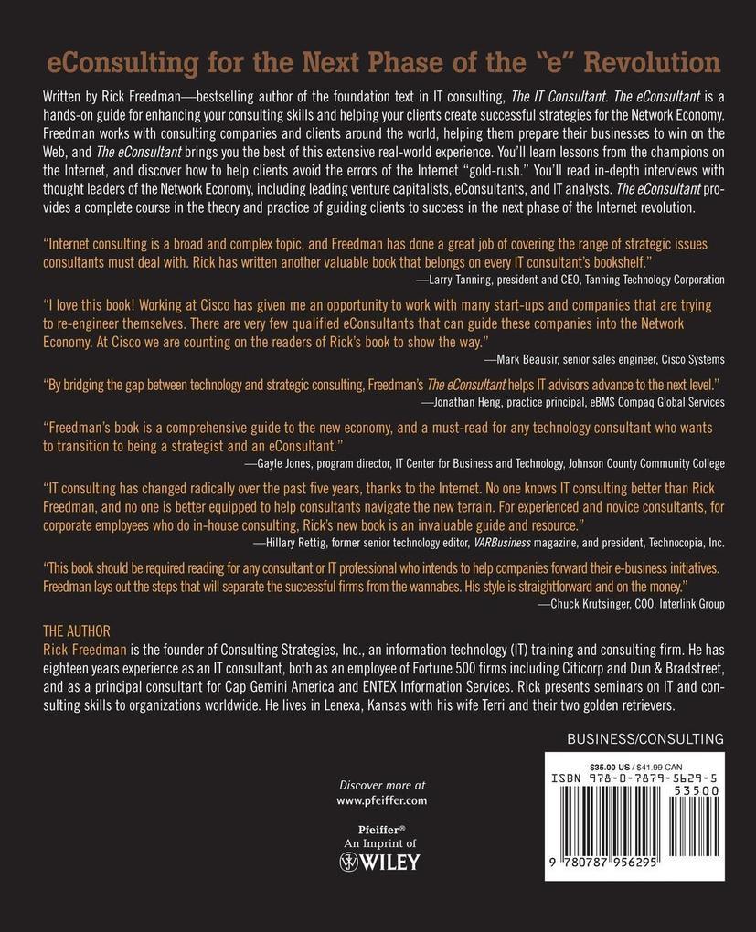 The Econsultant als Taschenbuch