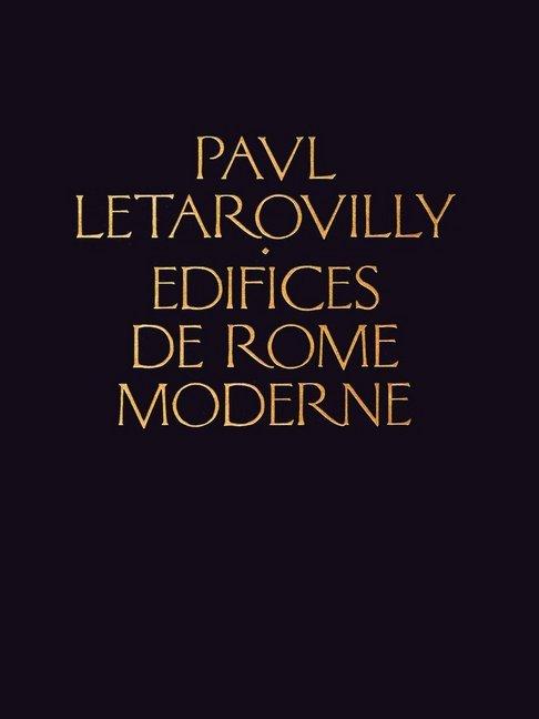 Edifices De Rome Moderne als Buch (gebunden)