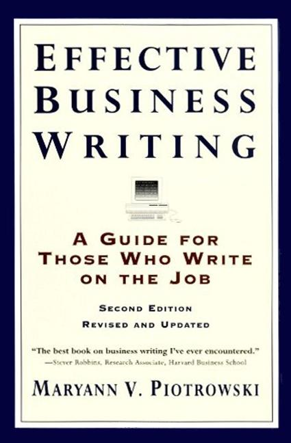 Effective Business Writing als Taschenbuch