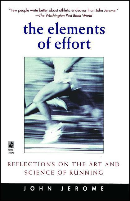 Elements of Effort: Reflections on the Art and Science of Running als Taschenbuch