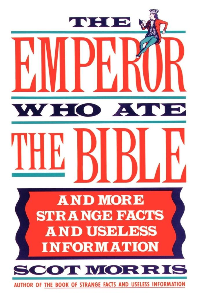 The Emperor Who Ate the Bible als Taschenbuch