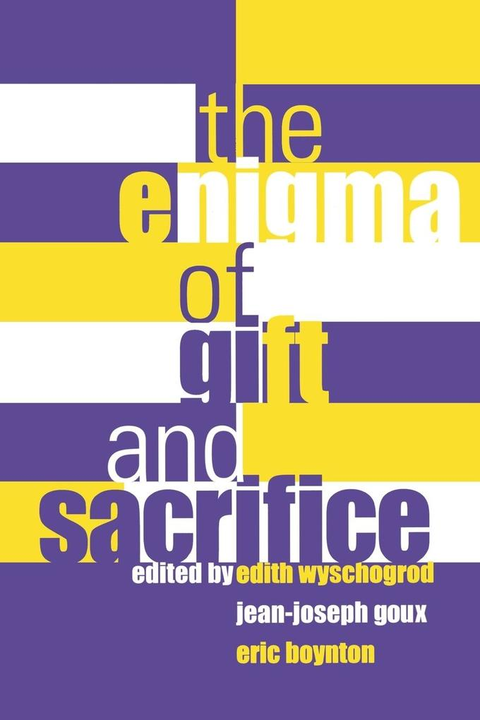 Enigma of Gift and Sacrifice Enigma of Gift and Sacrifice als Taschenbuch