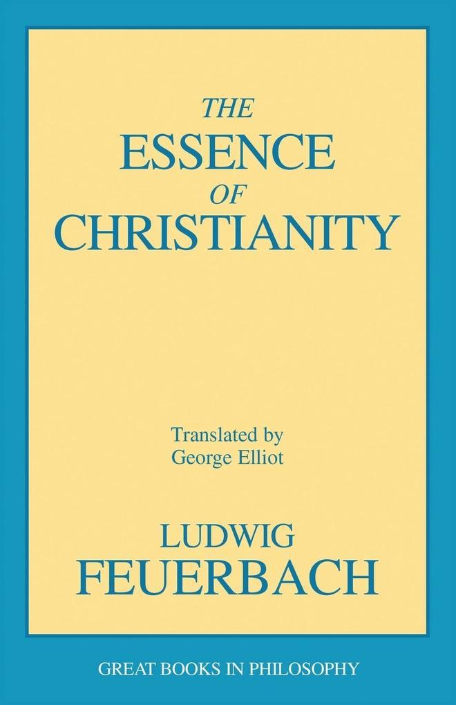The Essence of Christianity als Taschenbuch