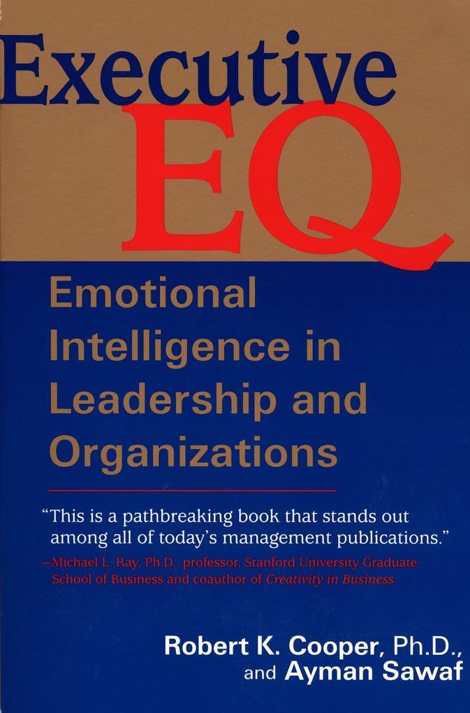 Executive E. Q. als Buch (kartoniert)