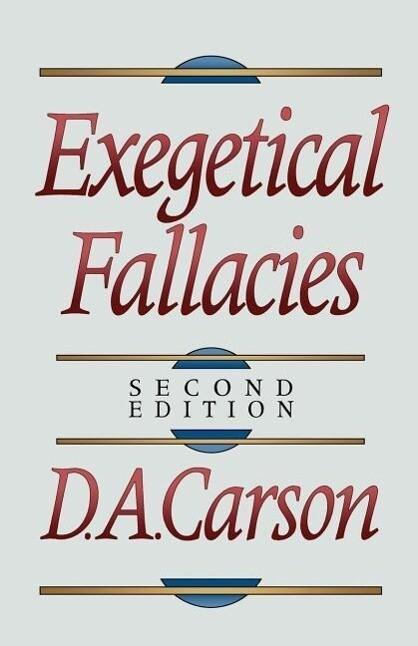 Exegetical Fallacies als Taschenbuch