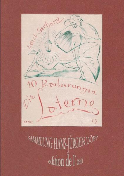 Ernst Gerhard, Die Laterne als Buch