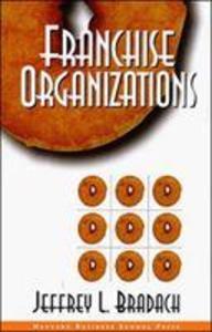 Franchise Organizations als Buch (gebunden)