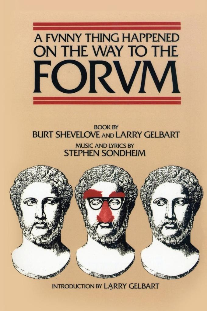 A Funny Thing Happened on the Way to the Forum Libretto als Taschenbuch