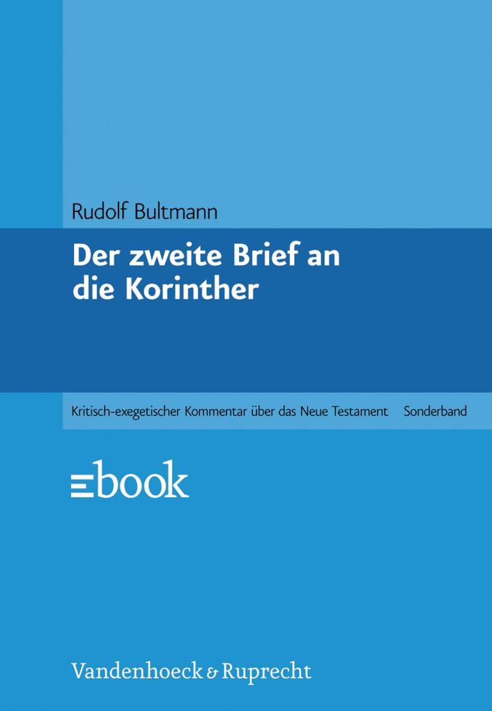Der zweite Brief an die Korinther als eBook pdf