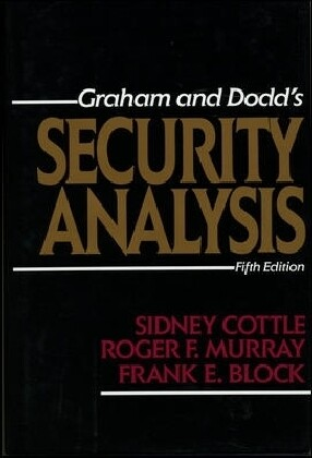 Security Analysis: Fifth Edition als Buch (gebunden)
