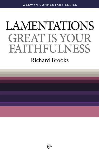 Wcs Lamentations: Great Is Your Faithfulness als Taschenbuch
