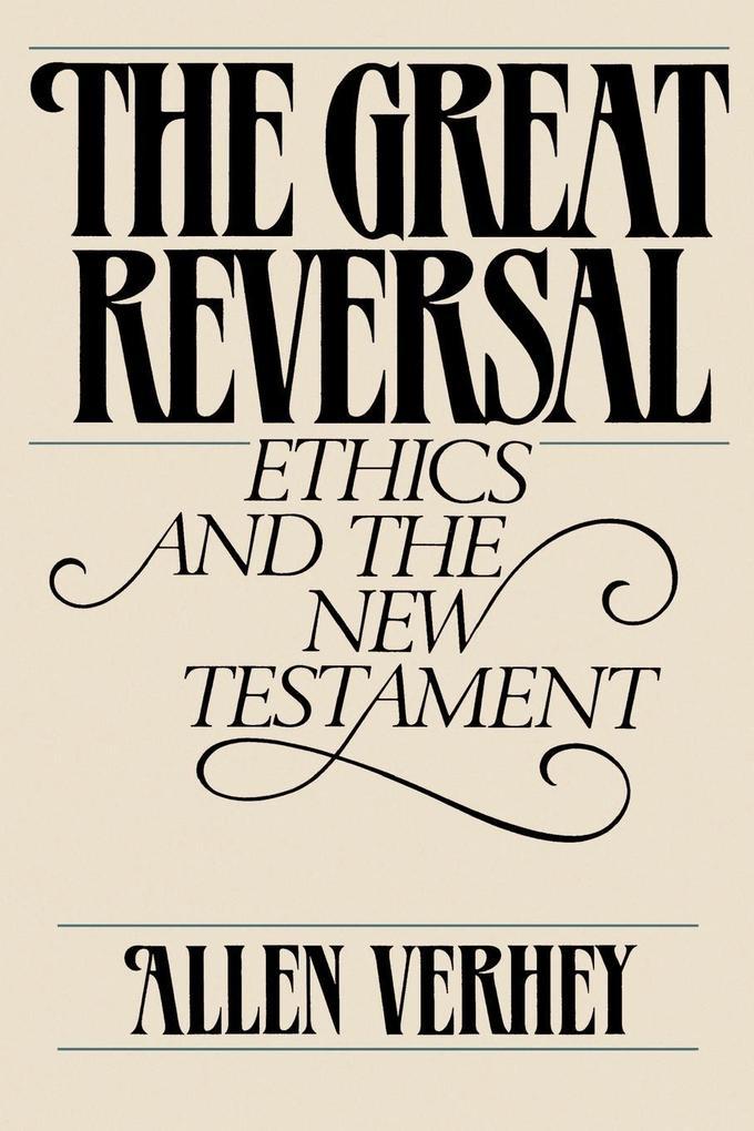 The Great Reversal als Taschenbuch