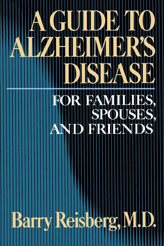 Guide to Alzheimer's Disease als Buch (kartoniert)