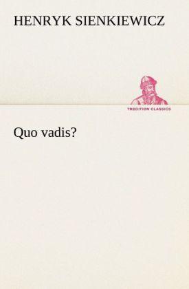 Quo vadis? als Buch (kartoniert)