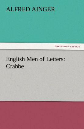 English Men of Letters: Crabbe als Buch (kartoniert)