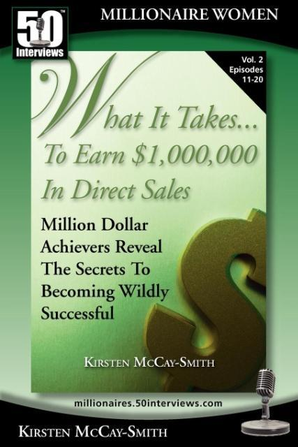 What It Takes... To Earn $1,000,000 In Direct Sales als Taschenbuch