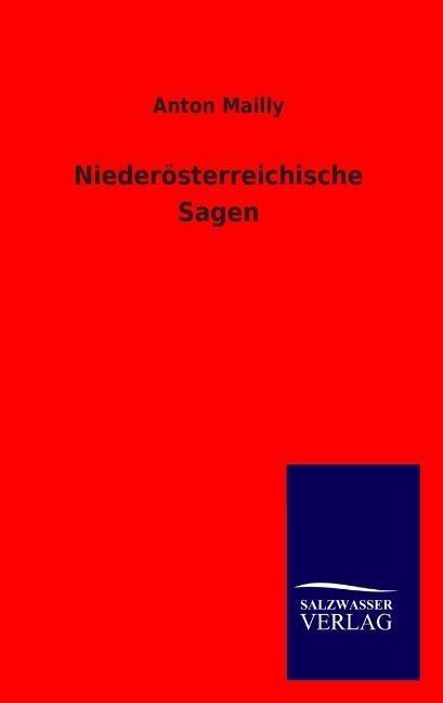 Niederösterreichische Sagen als Buch (kartoniert)