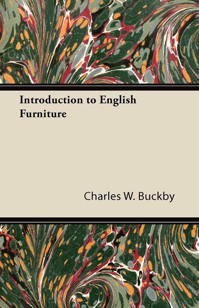 Introduction to English Furniture als Taschenbuch
