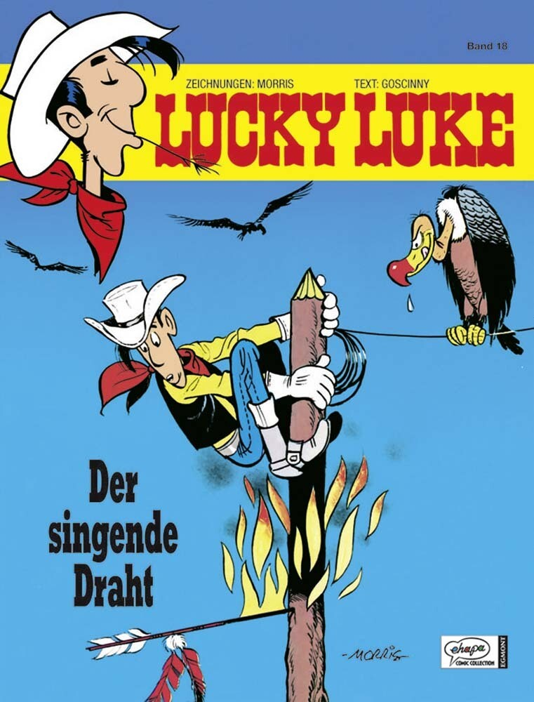 Lucky Luke 18 - Der singende Draht als Buch
