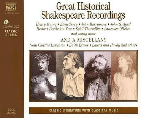 Great Historical Shakespeare Recordings als Hörbuch CD