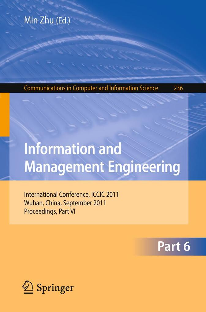 Information and Management Engineering als eBook pdf