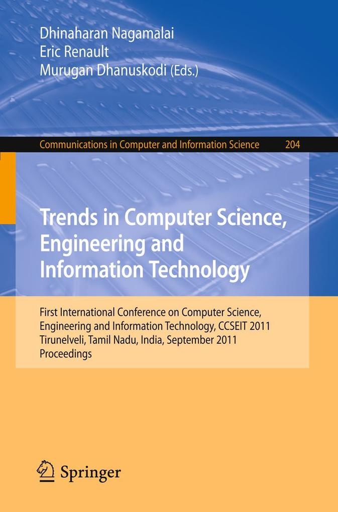 Trends in Computer Science, Engineering and Information Technology als eBook pdf