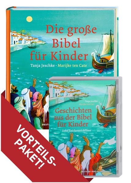 Die große Bibel für Kinder + Geschichten aus der Bibel für Kinder als Buch