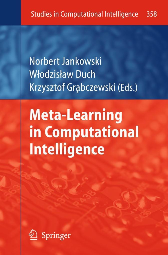 Meta-Learning in Computational Intelligence als eBook pdf