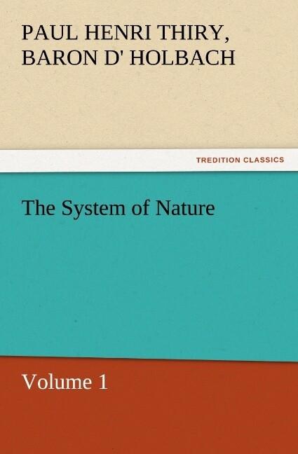 The System of Nature, Volume 1 als Buch (kartoniert)