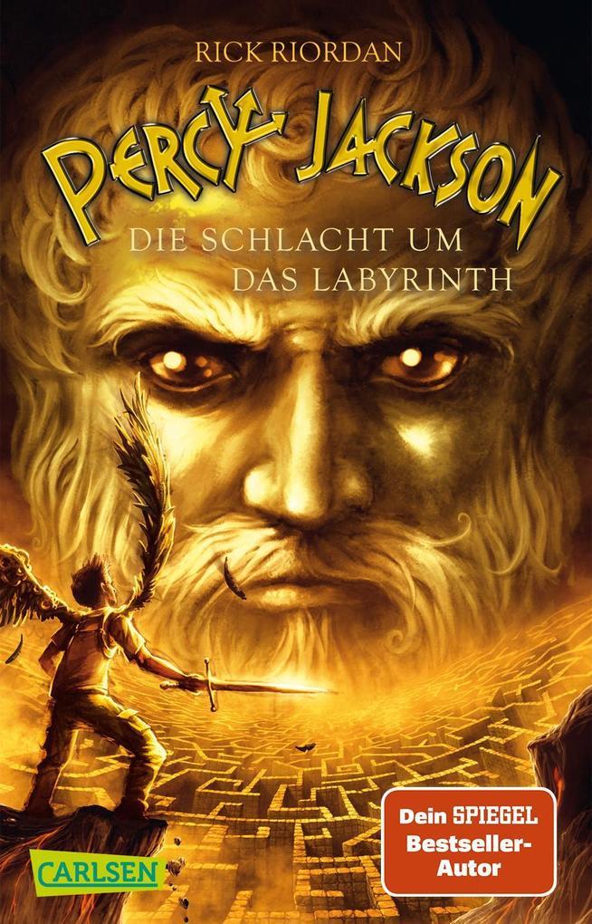 Percy Jackson 04. Die Schlacht um das Labyrinth als Taschenbuch
