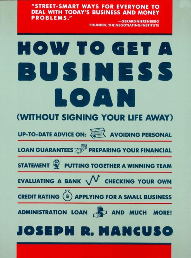 How to Get a Business Loan als Taschenbuch