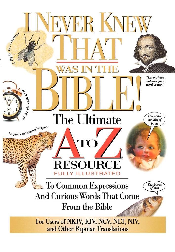 I Never Knew That Was in the Bible als Taschenbuch