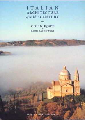 Italian Architecture of the 16th Century als Buch (gebunden)