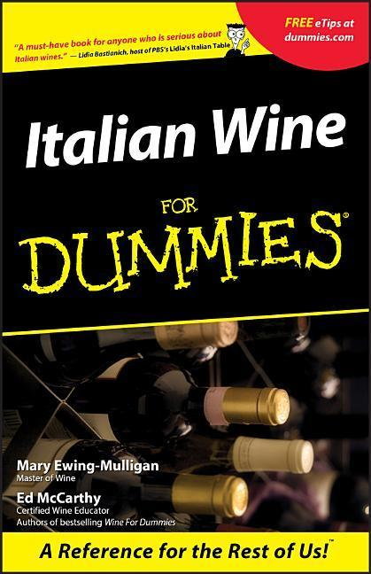 Italian Wine for Dummies als Buch (kartoniert)