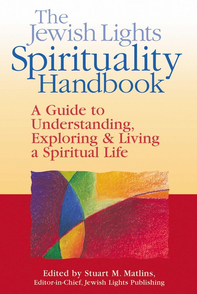 Jewish Lights Spirituality Handbook als Taschenbuch