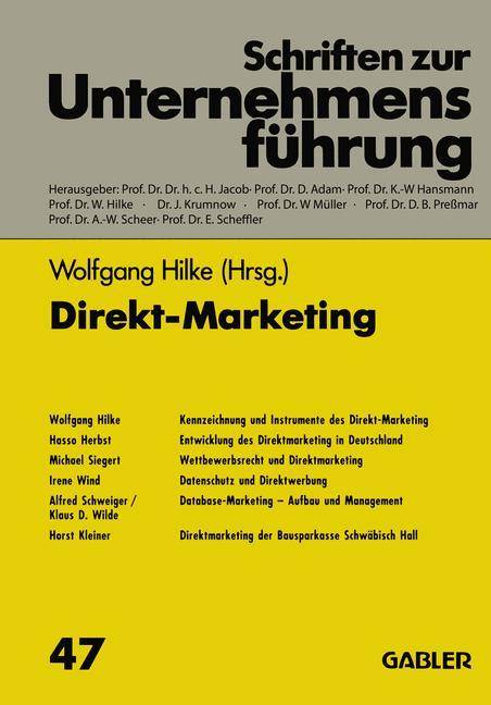 Direkt-Marketing als Buch (kartoniert)
