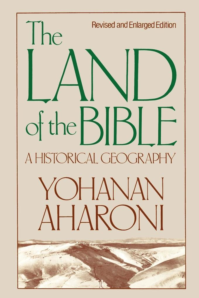 The Land of the Bible als Taschenbuch