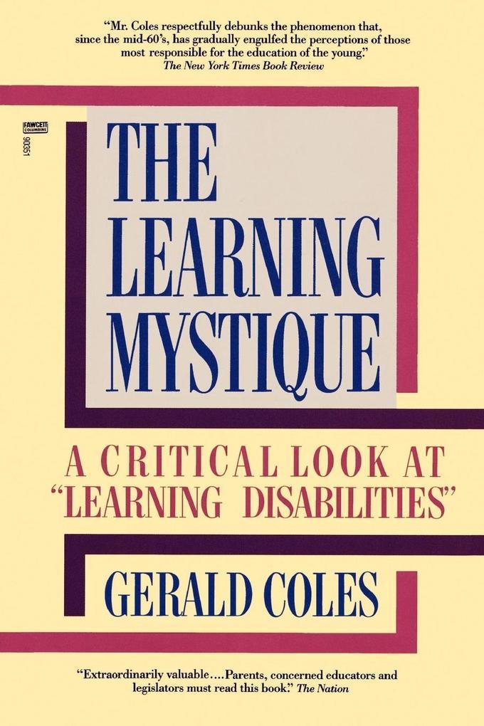 The Learning Mystique als Taschenbuch