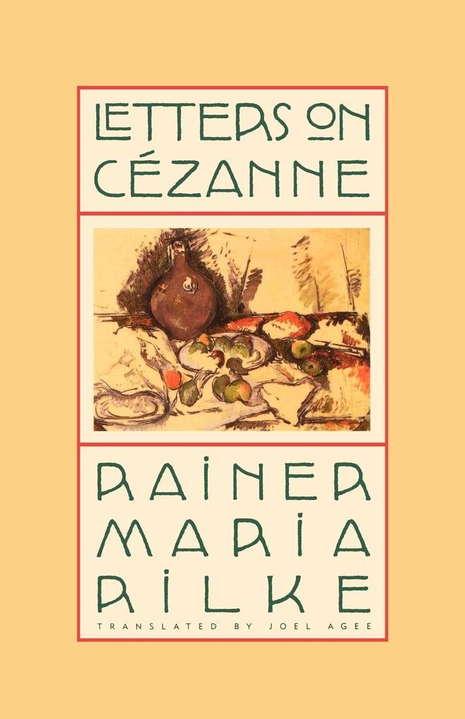 Letters on Cezanne als Taschenbuch