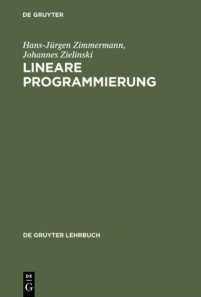Lineare Programmierung als Buch (gebunden)