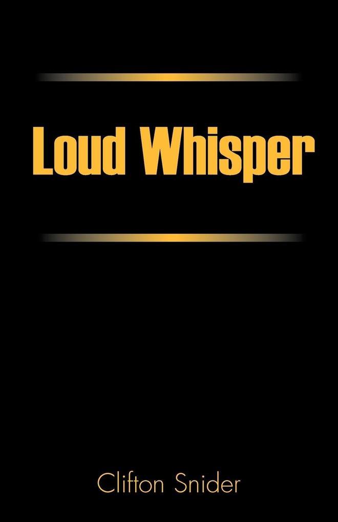 Loud Whisper als Taschenbuch