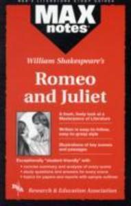MAXnotes Literature Guides: Romeo and Juliet als Taschenbuch