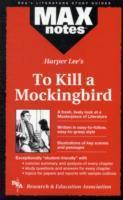 To Kill a Mockingbird (Maxnotes Literature Guides) als Buch (kartoniert)
