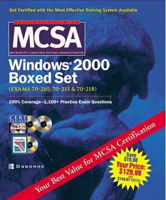 McSa Windows 2000 Boxed Set: (Exams 70 210, 70 215, & 70 218) [With CDROMs] als Sonstiger Artikel