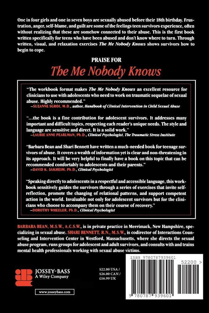 Me Nobody Knows Teen Survivors Rev P als Buch (kartoniert)