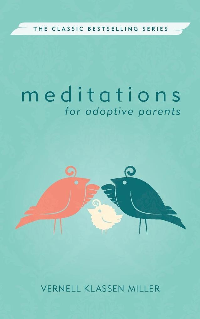Meditations for Adoptive Parents, Revised als Taschenbuch