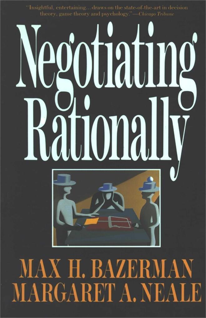 Negotiating Rationally als Taschenbuch