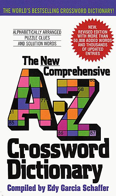 New Comprehensive A-Z Crossword Dictionary als Taschenbuch