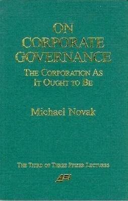 On Corporate Governance als Taschenbuch