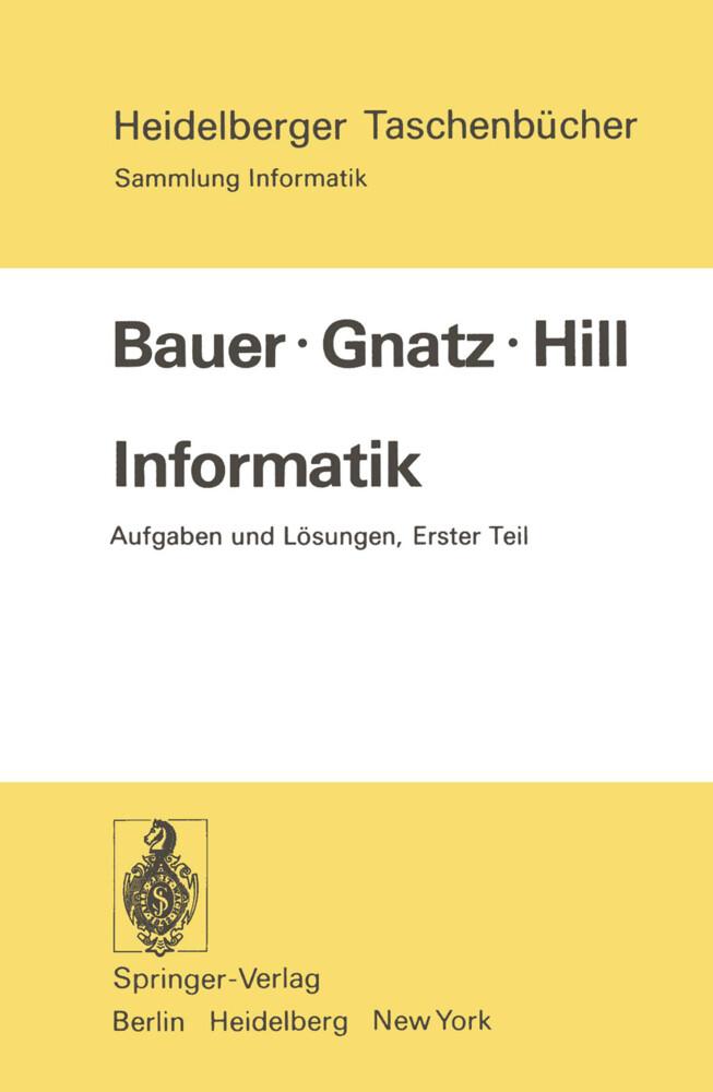Informatik als Buch (kartoniert)